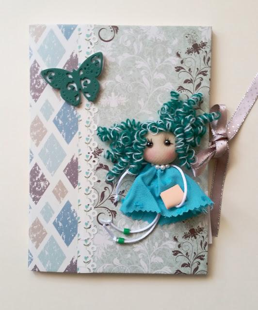 Cuaderno para profe en verde