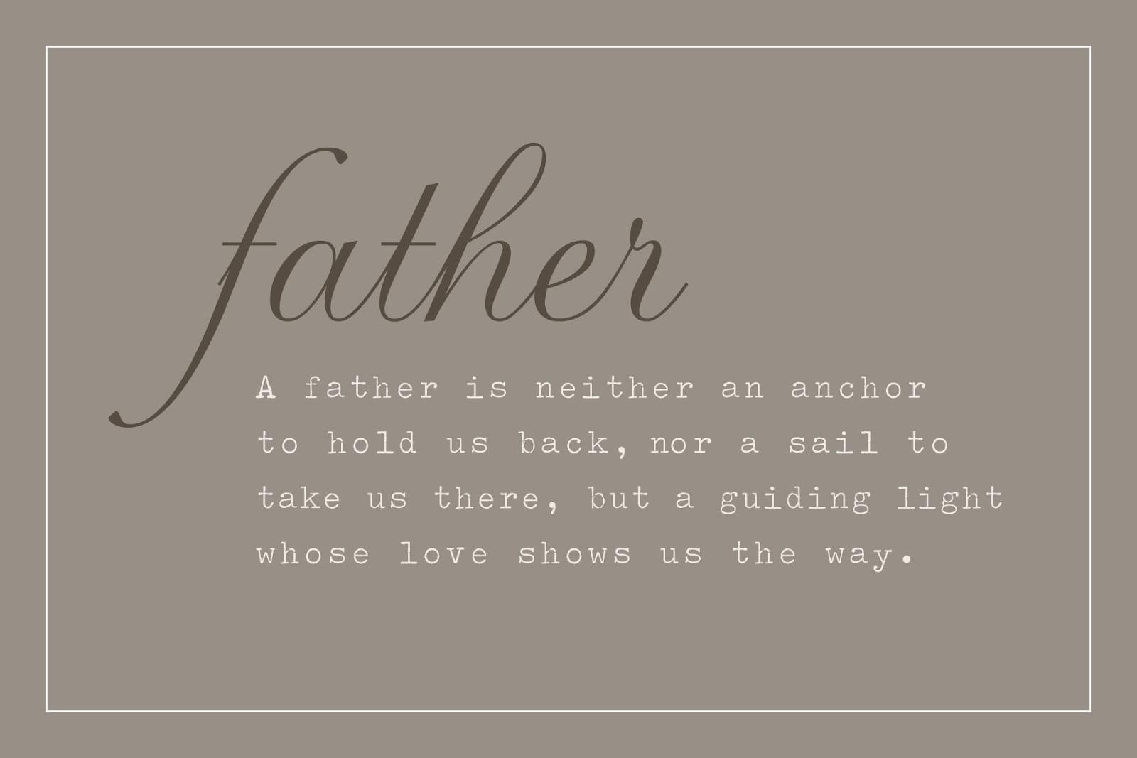 Spruch Vatertag