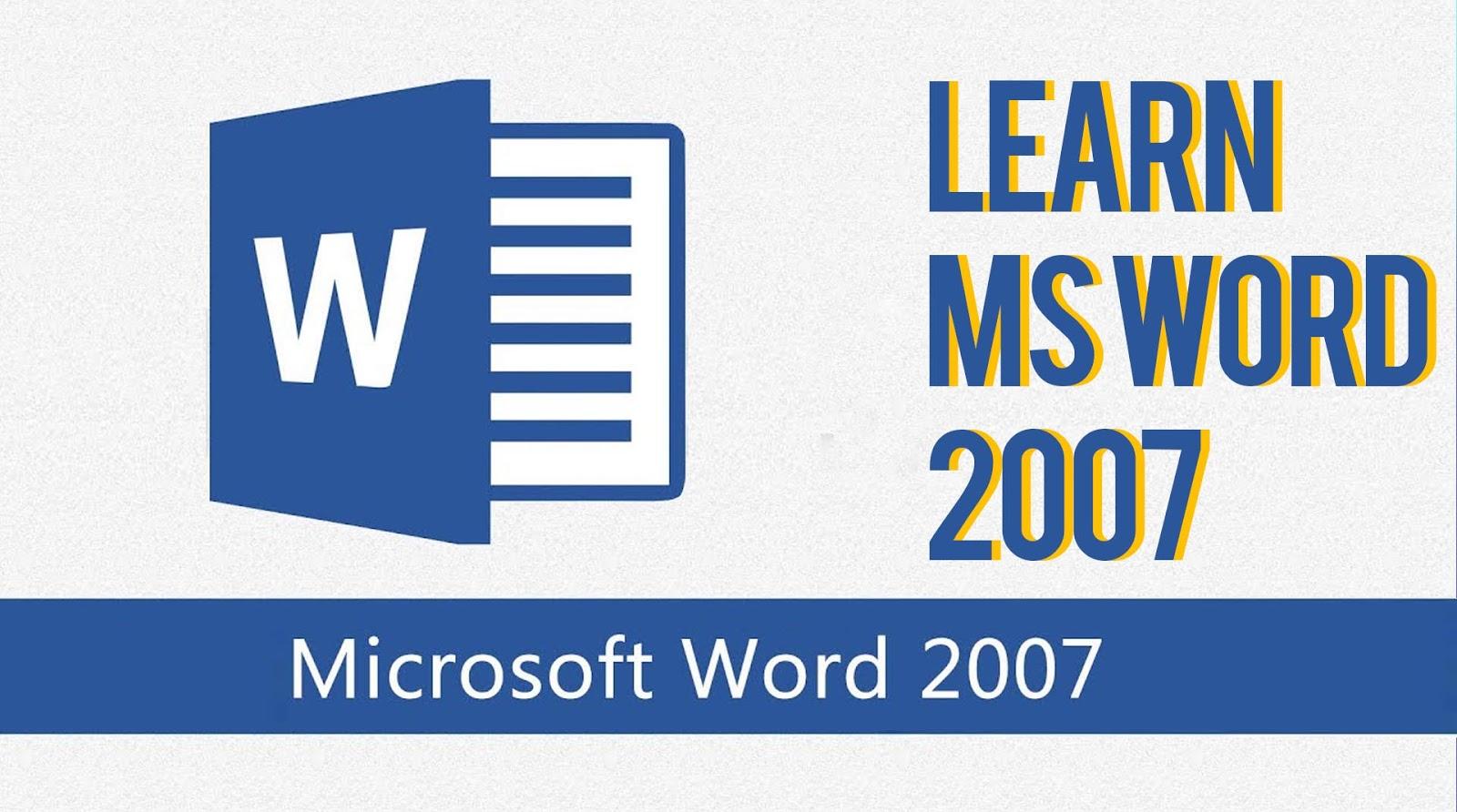Microsoft Word 2007 Bangla Tutorial Pdf