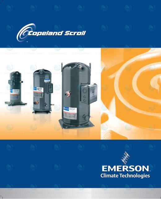 Ini Beberapa Produk Kompresor Copeland Scroll Berdasarkan Kapasitas Watt dan BTU/h