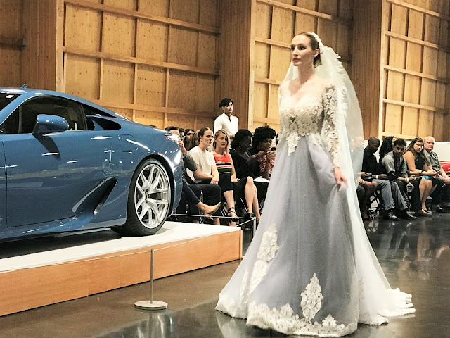 LeMay Car Museum: High Couture Fashion: Meets Exotic Car Runway