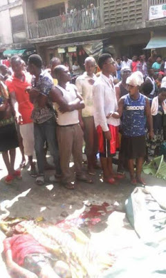 74 Three Children Crushed To Death By Female Driver Who Suffered Brake Failure In Abia (Graphic Photos)