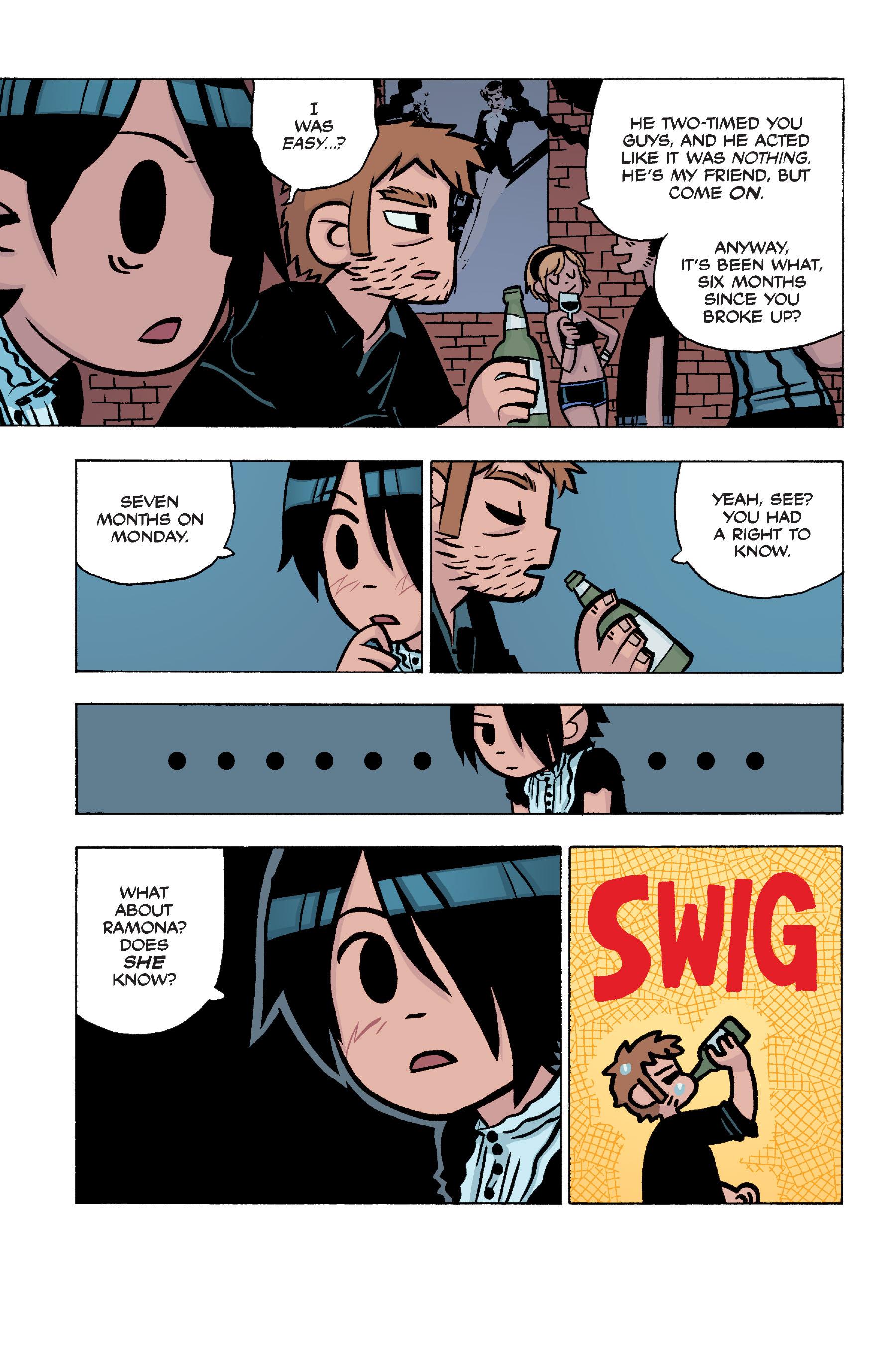 Read online Scott Pilgrim comic -  Issue #5 - 22