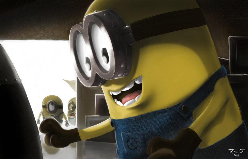 миньоны банана все серии подряд смотреть онлайн - 13