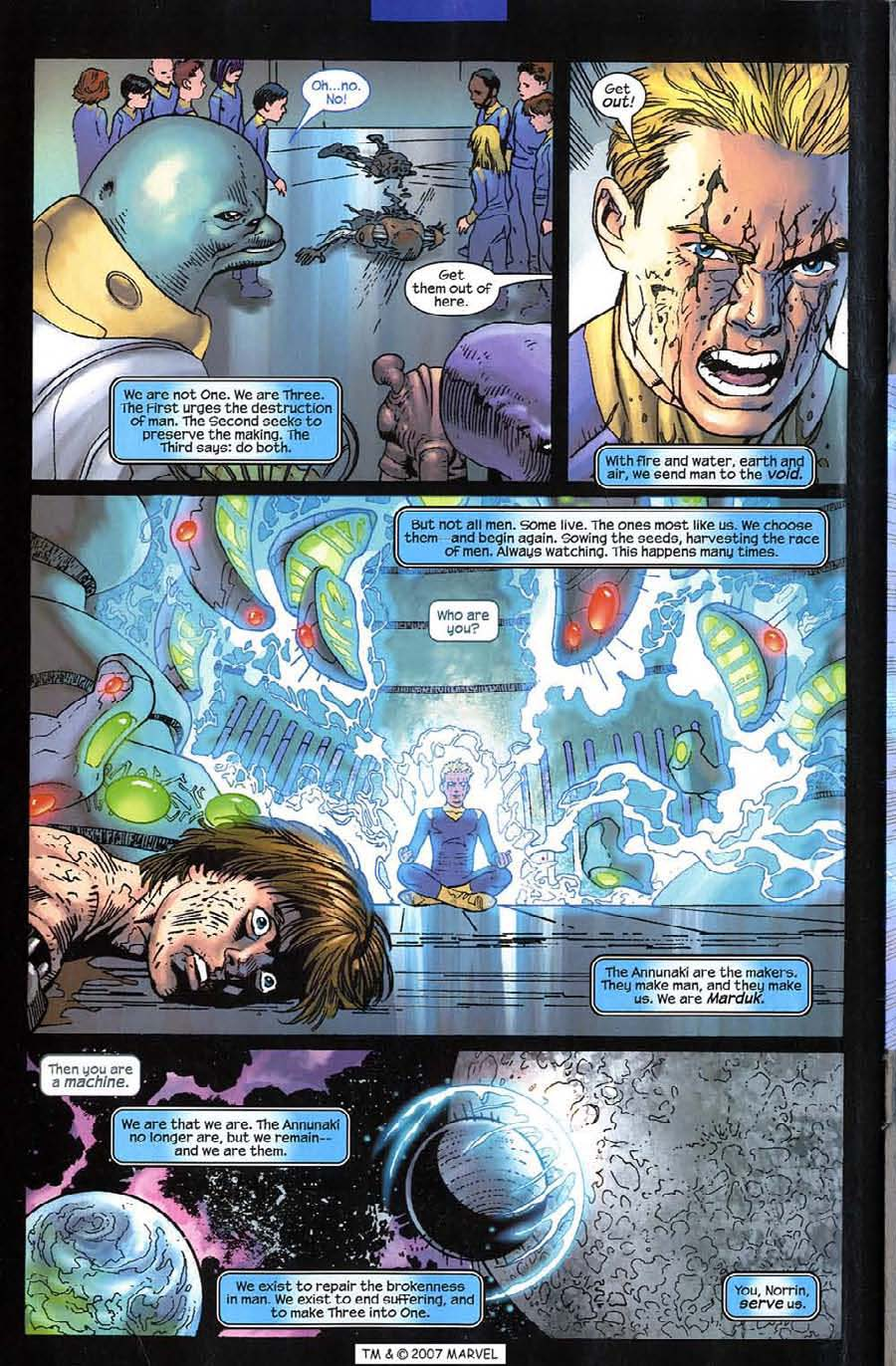 Read online Silver Surfer (2003) comic -  Issue #12 - 32