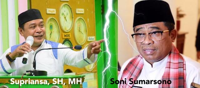 Plt Gubernur Larang Takbir Keliling, Wabup Soppeng ; Masa Acara Bernuansa Islam di larang!