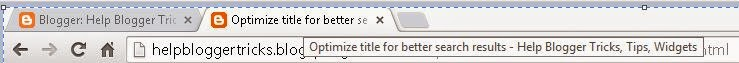 Optimize title for better search results