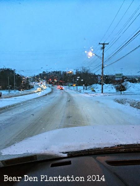 Augusta, Maine in the Winter