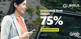 Kode Promo Grab JENIUSGRAB75