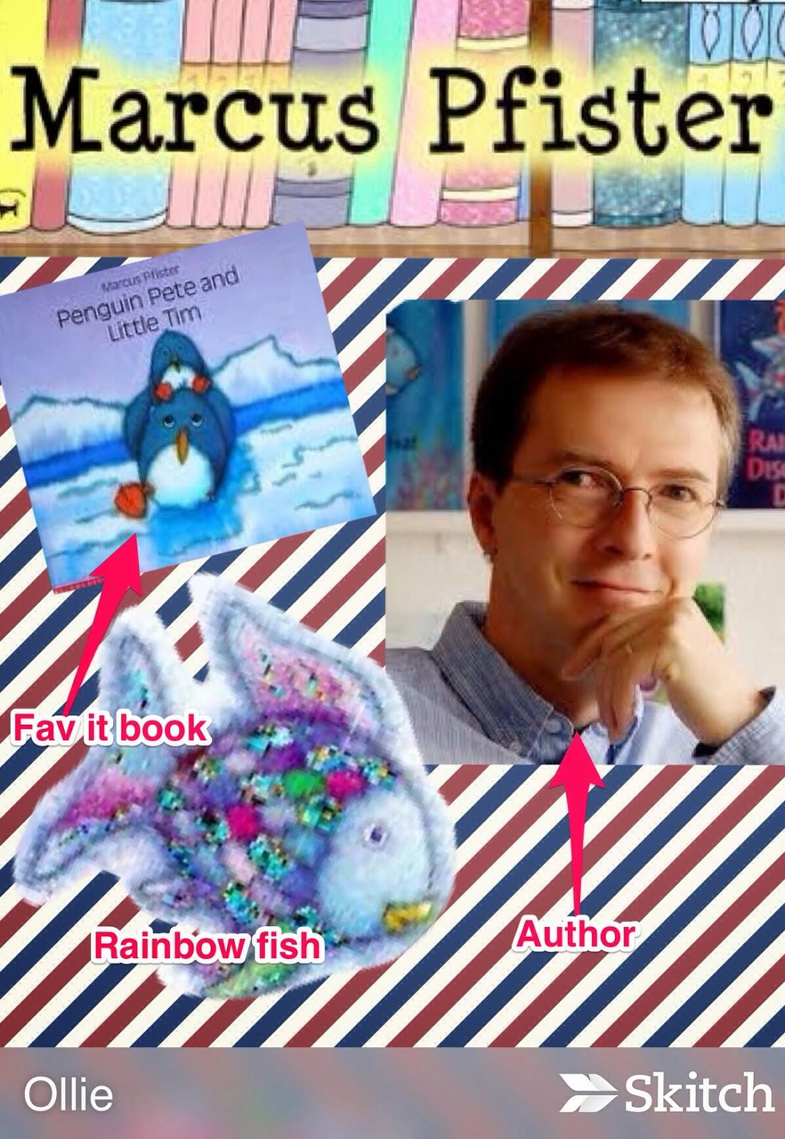 Ridgley's Kinder Kids! : Author Study: Marcus Pfister