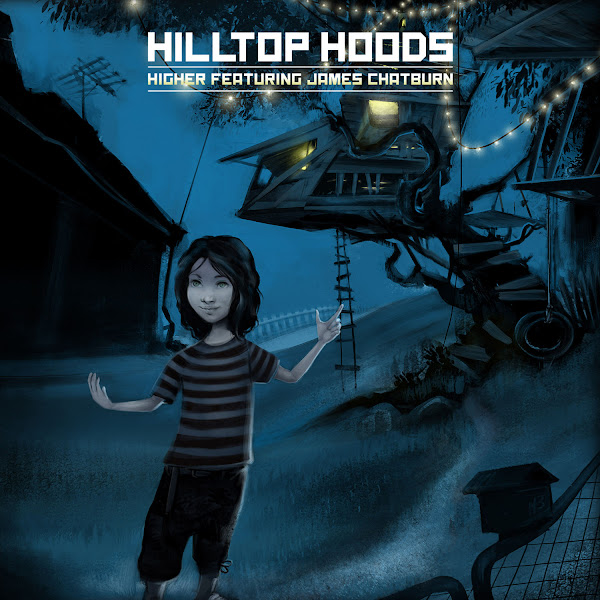 Hilltop Hoods - Higher (feat. James Chatburn) - Single Cover