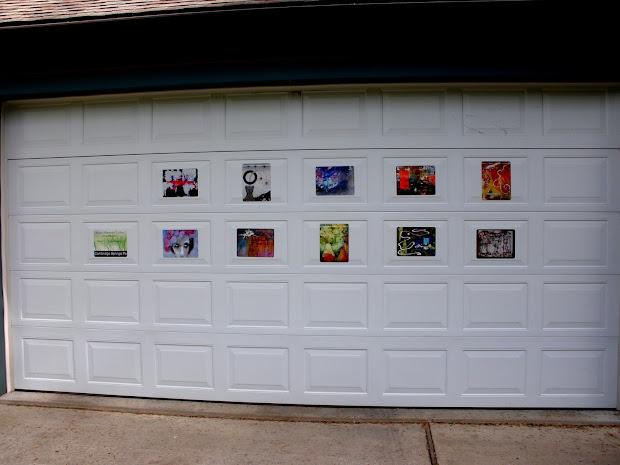 Notes Straw Mountain Studio Garage Door Art