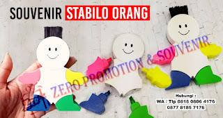 Stabilo Orang, Stabilo Promosi Bentuk Orang, Stabilo Orang Promosi, Souvenir Stabilo Promosi bentuk orang, Stabillo Promosi Bentuk Manusia