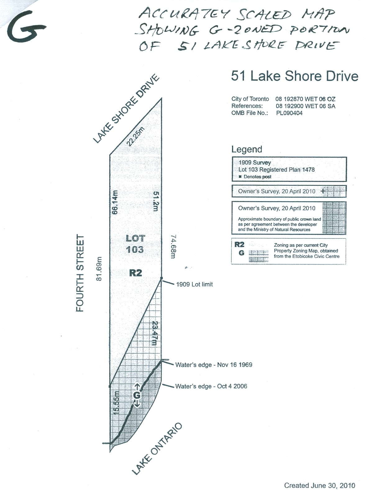 51 LAKE SHORE DRIVE: MR. ZANINI (DUNPAR) IS GRANTED