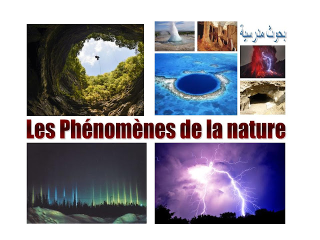 les phenomenes de la nature