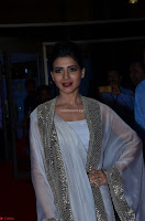 Samantha Ruth Prabhu cute in Lace Border Anarkali Dress with Koti at 64th Jio Filmfare Awards South ~  Exclusive 045.JPG