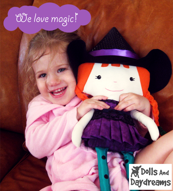 Dolls And Daydreams Doll And Softie Pdf Sewing Patterns Halloween
