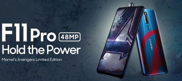 Oppo F11 Pro Marvel's Avengers Edition Launch In India 2019,oppo,OPPO is looking to cash in on the frenzy by launching a limited edition variant of the F11 Pro. Dubbed the F11 Pro Marvel's Avengers Limited Edition, the phone was announced,avengers: endgame