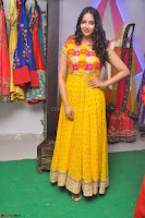 Pujitha in Yellow Ethnic Salawr Suit Stunning Beauty Darshakudu Movie actress Pujitha at a saree store Launch ~ Celebrities Galleries 018.jpg