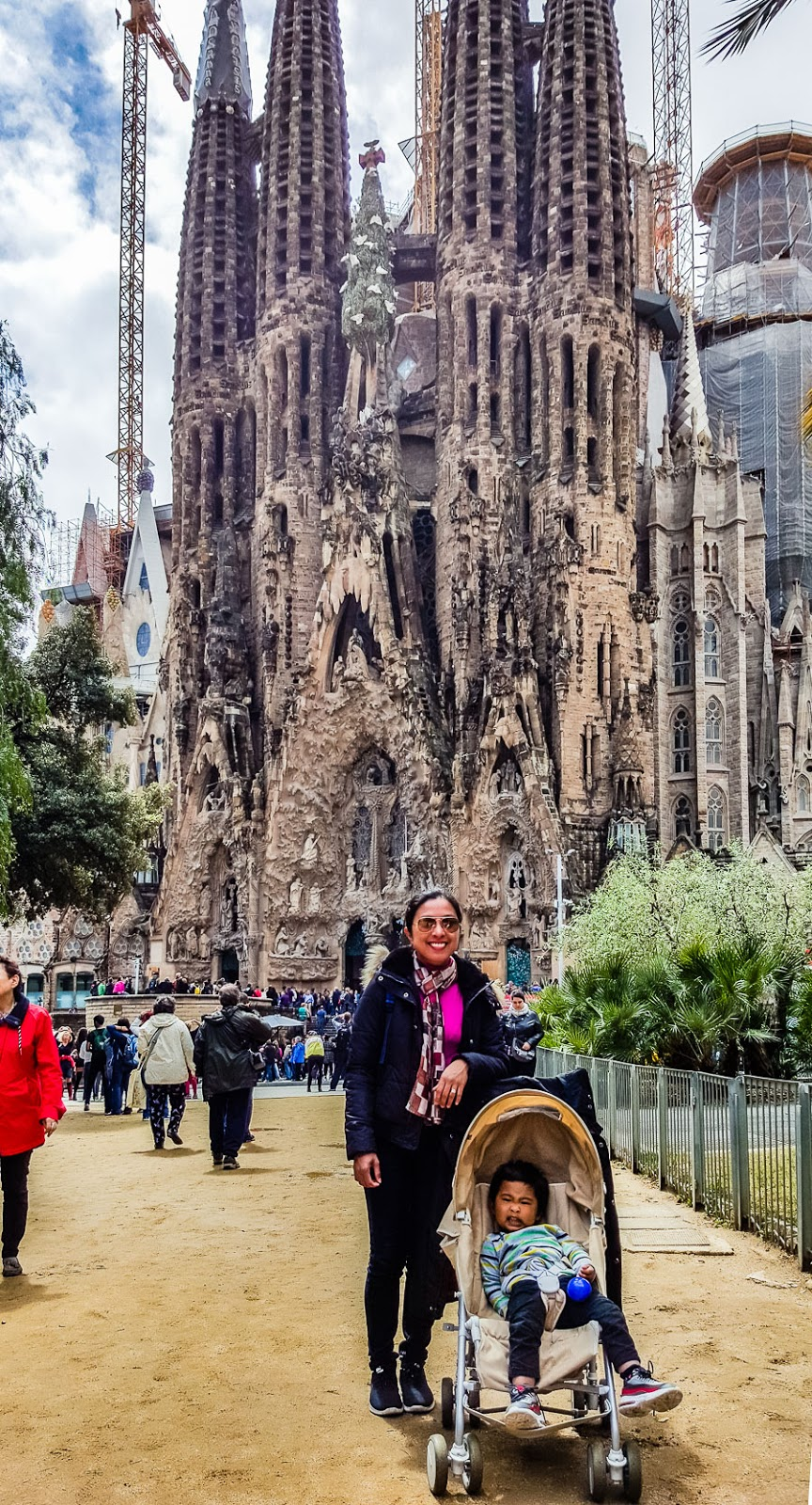 La Sagrada Familia (Barcelona, Spain)