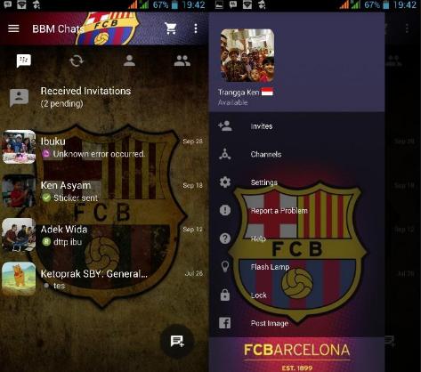 BBM Mod Barcelona 2.13.1.14 Apk