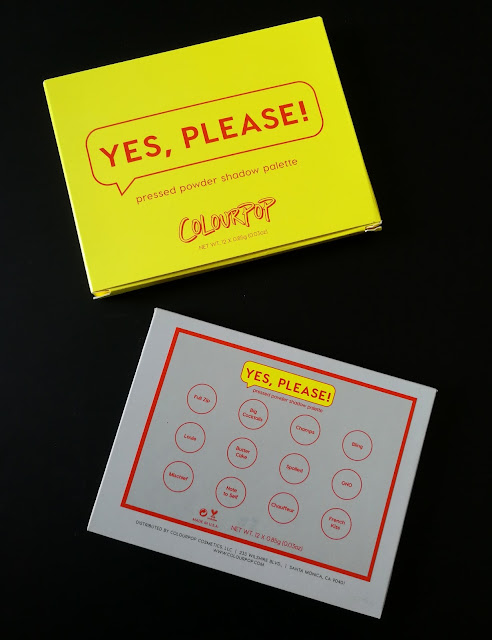 Review Yes please Colourpop