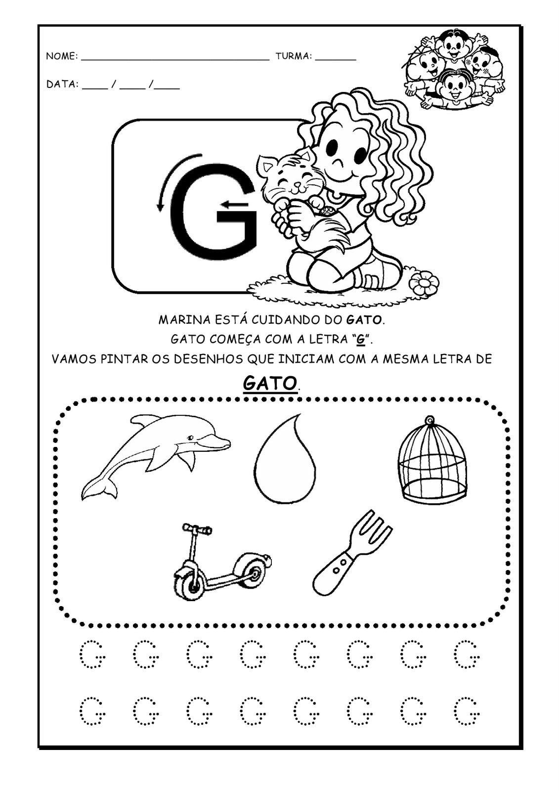 Well-known A Arte de Educar: Alfabeto - atividades WS64