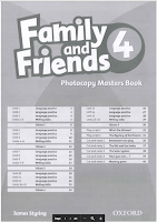 Family and Friends 4 - Photocopy Masters Book