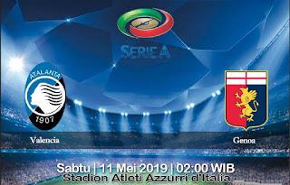 Prediksi Atalanta Vs Genoa 11 Mei 2019