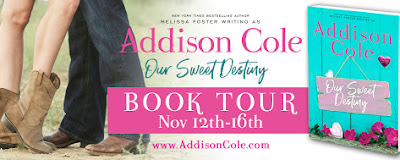 Susan's Review of Our Sweet Destiny - Bradens #2 by Addison Cole