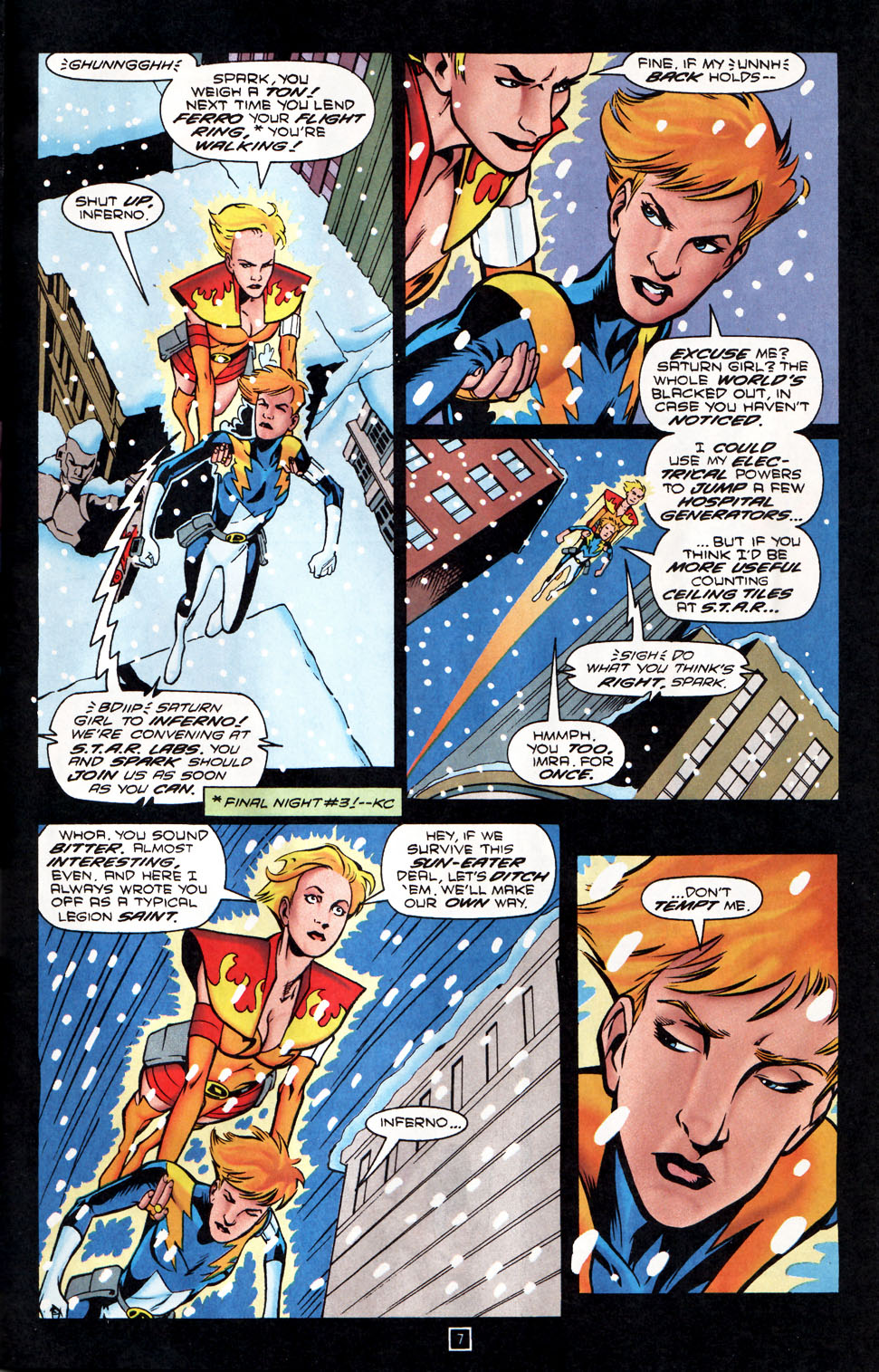 Legion of Super-Heroes (1989) 86 Page 7
