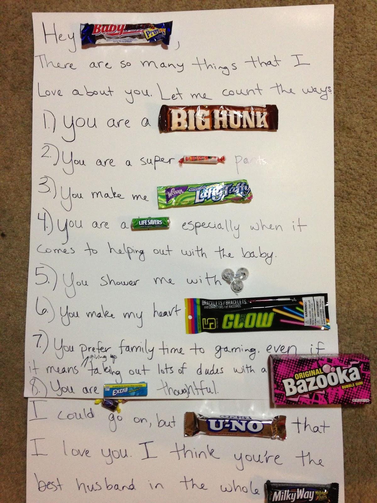 dating made fun candy bar poster