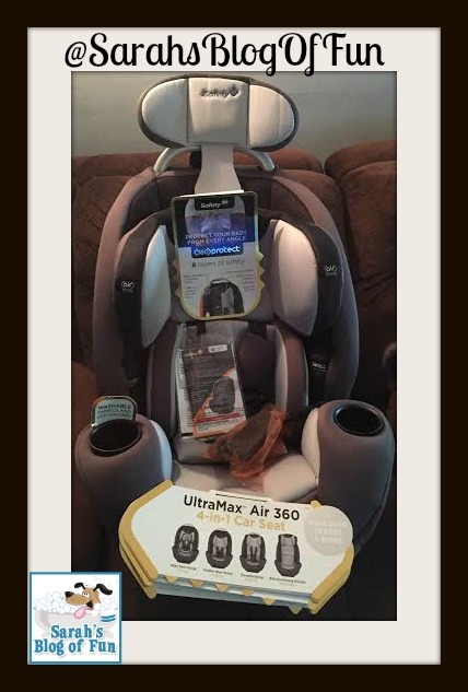 sarah 39 s blog of fun safety 1st ultramax air 360 4 in 1 car seat review and giveaway. Black Bedroom Furniture Sets. Home Design Ideas