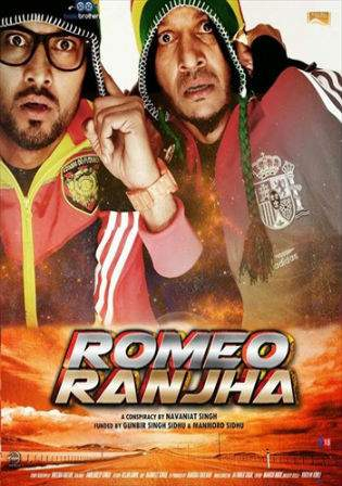 Romeo Ranjha 2014 HDRip 900MB Punjabi 720p Watch Online Free Download bolly4u