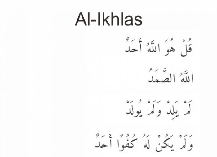 Quran Surat Al Ikhlas