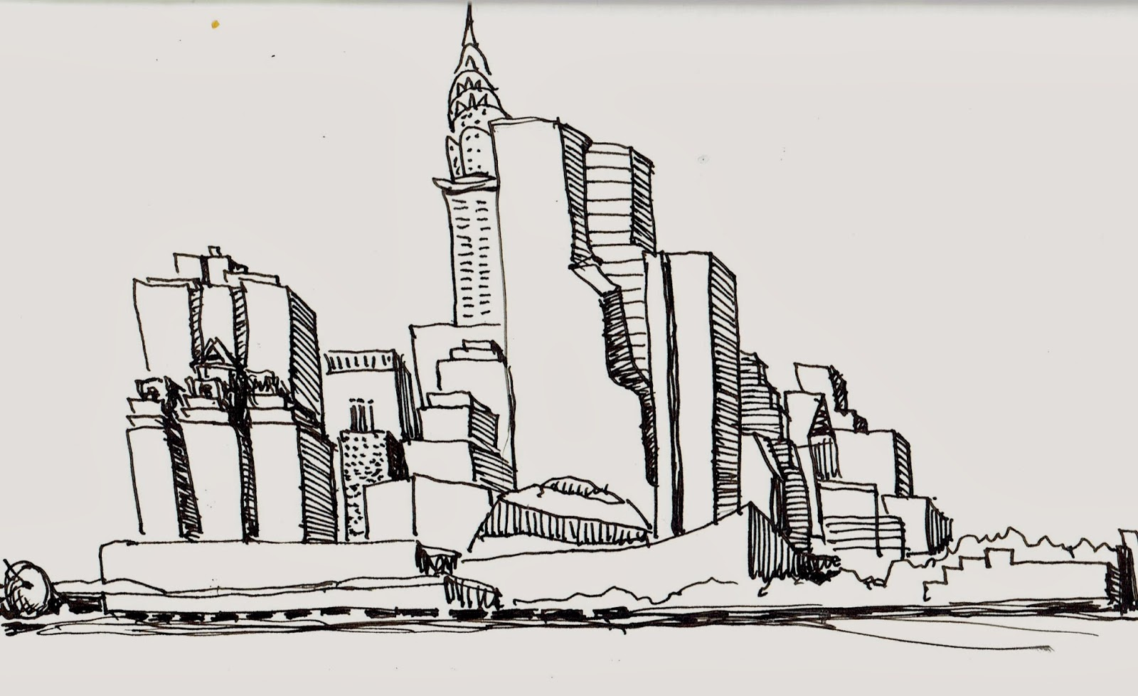 New York City Urban Sketchers Long Island City