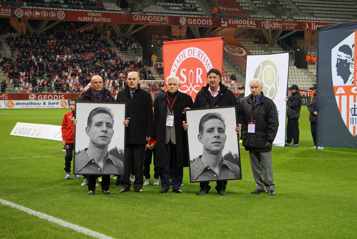 Never Allowed Before Stade de Reims Honors Raymond Kopa With