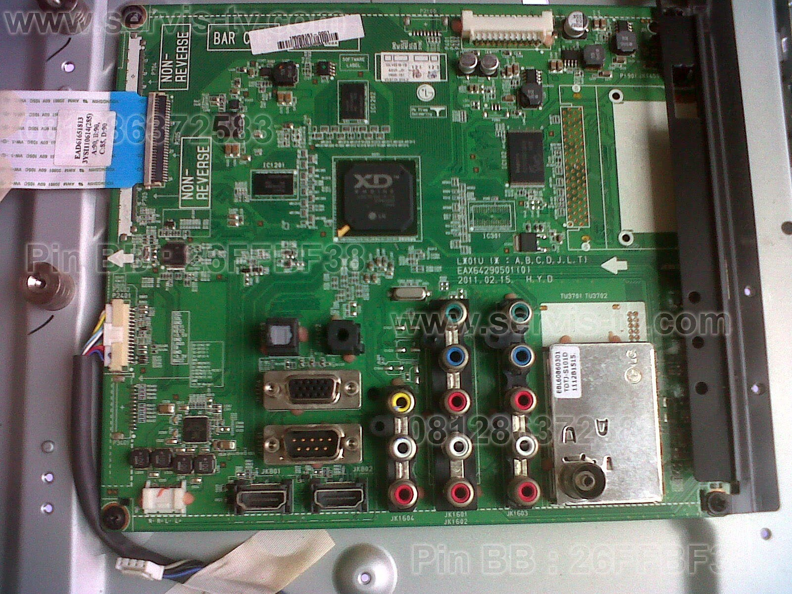 LG Service Mainboard LED TV