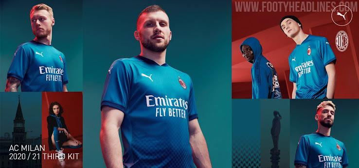 Ac Milan 20 21 Third Kit Released Footy Headlines