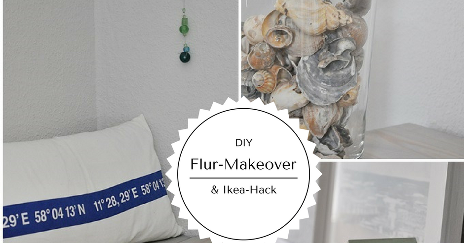 smillas wohngef hl diy flur makeover mit ikea hack und. Black Bedroom Furniture Sets. Home Design Ideas