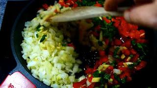 verdura para lasaña