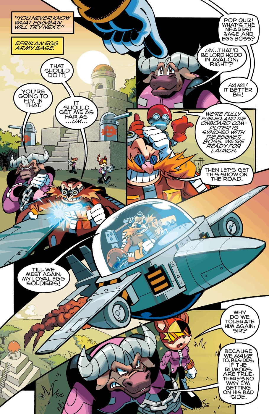 Read online Sonic The Hedgehog comic -  Issue #253 - 21