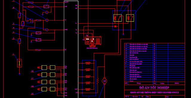 Bản vẽ mạch điện ABS