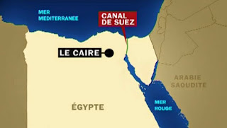 canal de suez egypte filme video