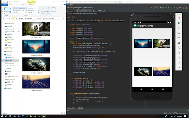 How To Create A Wallpaper App In Android Studio