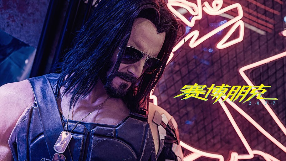 Johnny Silverhand, Cyberpunk 2077, Game, Cosplay, 4K, #3.1972