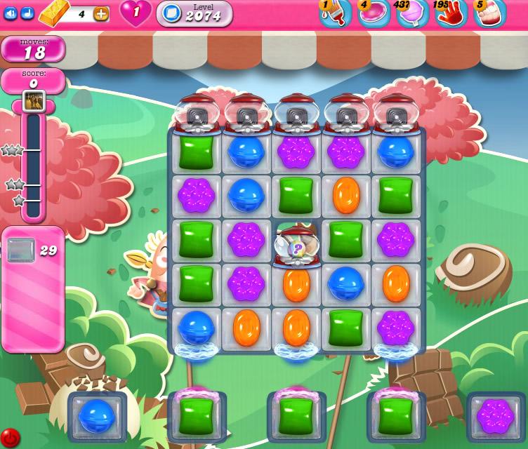 Candy Crush Saga level2074