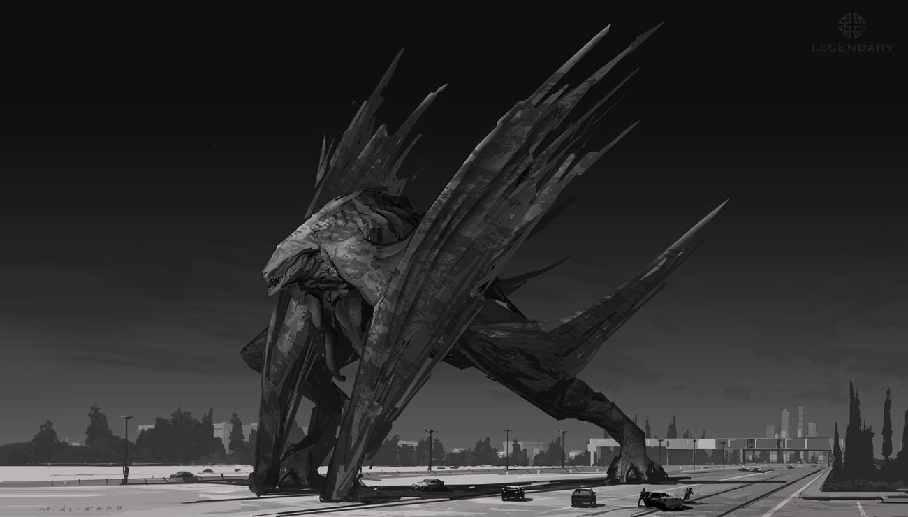 Matt Allsopp Concept Artist: Winged Muto 01