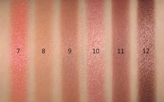L'Oreal Paris Paradise Enchanted Scented Eyeshadow Palette Swatches