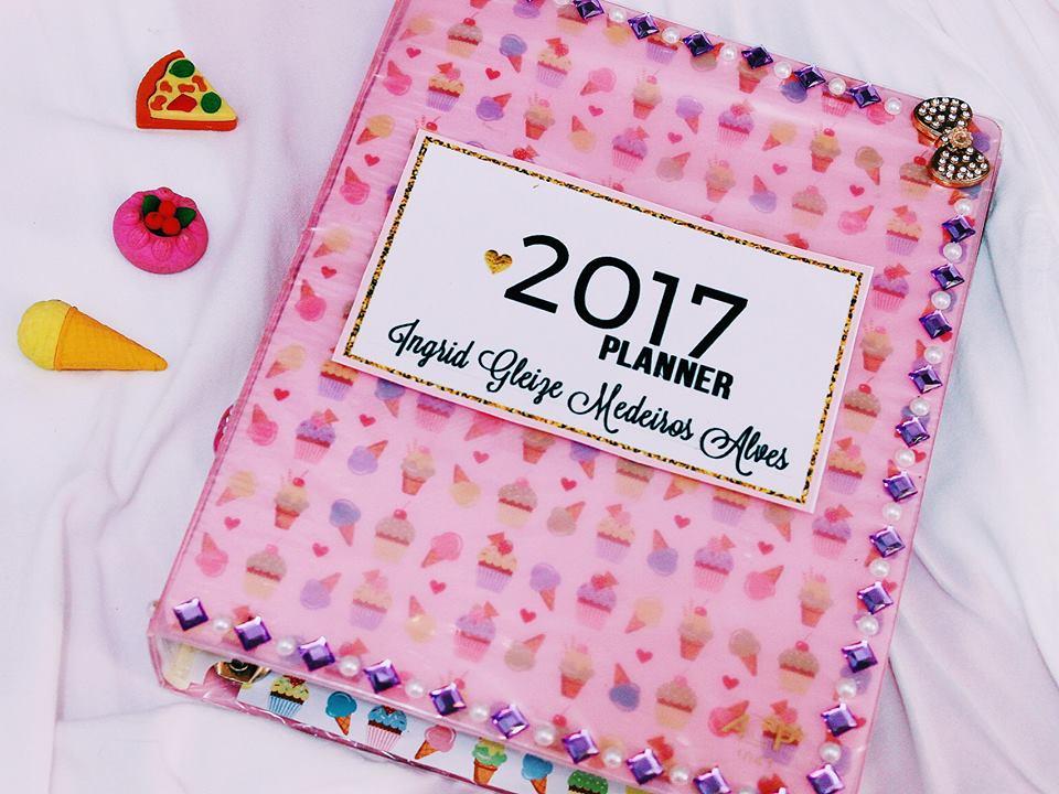 planner barato, como fazer planner, ingrid gleize, planner 2017, planner barato, planner aliexpress, planner sorvete